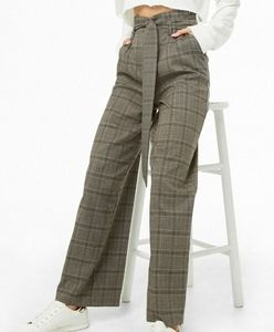 Forever 21 Contemporary Plaid Pants